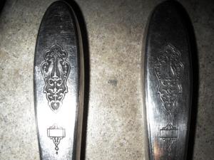 Silverware from the Hewitt Family